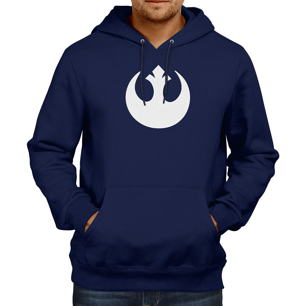 Star Wars Rebel Alliance Rebellion Jedi Pullover Hoodie Jacket ...