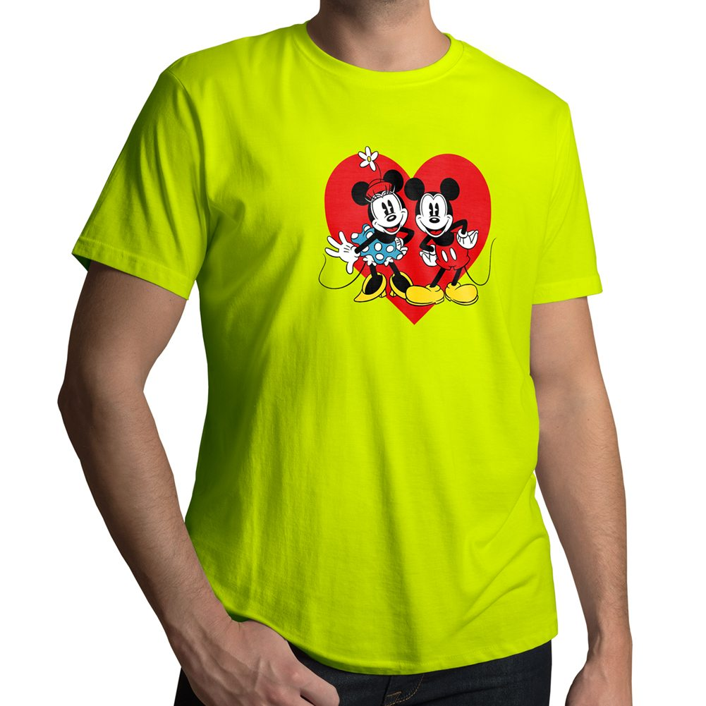 disney mickey and minnie mouse love couple valentine mens. Black Bedroom Furniture Sets. Home Design Ideas