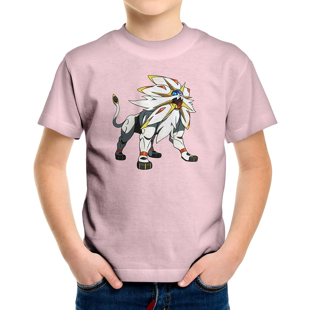 solgaleo pokemon new fun cool kids boys youth teen tee t shirt. Black Bedroom Furniture Sets. Home Design Ideas